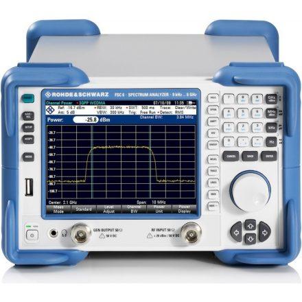 Rohde & Schwarz FSC3 Model13 spektrumanalizátor tracking generátorral