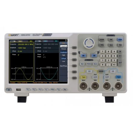 Owon XDG3252 függvénygenerátor