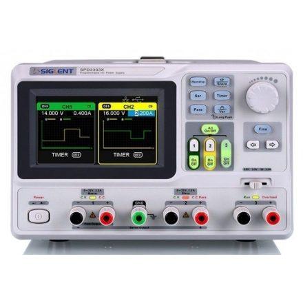 Siglent SPD3303X programmable linear DC power supply