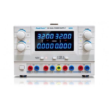 PeakTech P6210 labortápegység