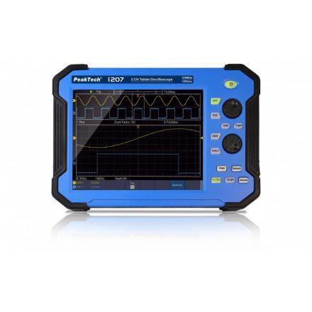 PeakTech P1207 digitális oszcilloszkóp