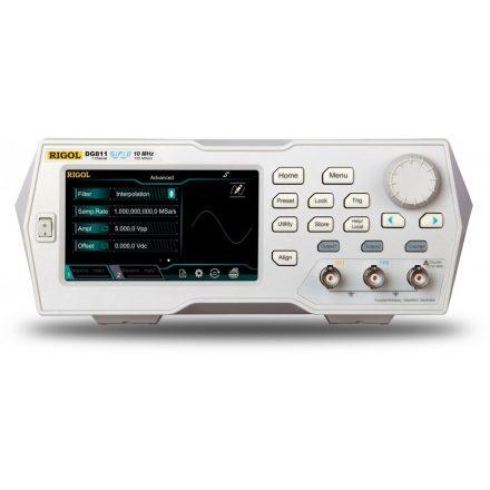 Rigol DG821 függvénygenerátor