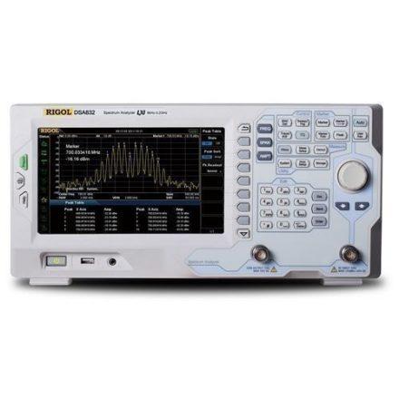 Rigol DSA832-TG spektrumanalizátor tracking generátorral