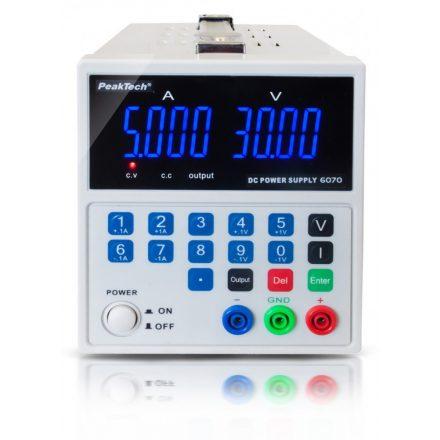 PeakTech P6070 labortápegység