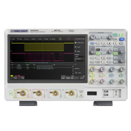 Siglent SDS5054X oscilloscope